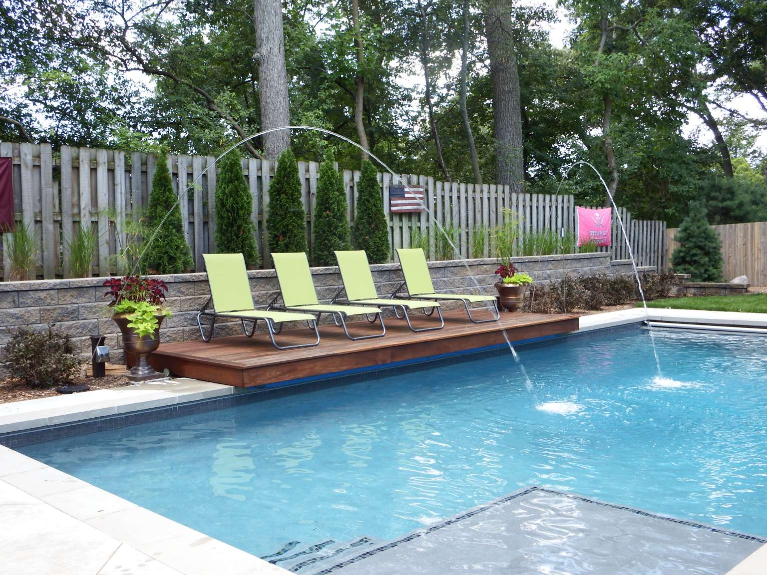 East Grand Rapids Modern Pool, Outdoor Kitchen, and ... on Outdoor Kitchen By Pool id=47513