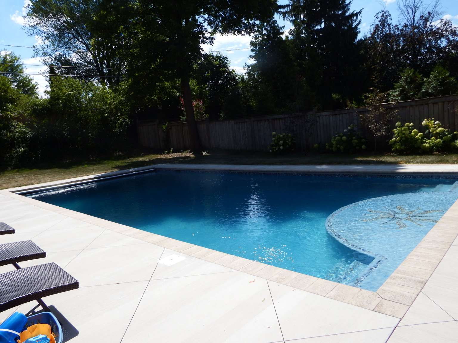 East Grand Rapids tile inlay pool
